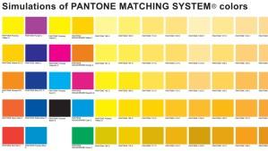 Warna Standart Pantone